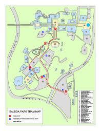 park tram  balboa park