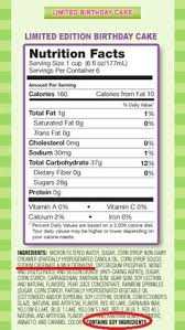 this is a reminder that you must read the entire label before serving a food to your child with food allergies
