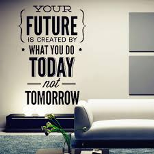 office wall decorations. 2016 new hot inspirational quotes wall stickers office decorations e
