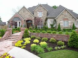 Landscaping Design Ideas For Front Of House Garden Ideas Front House Breathtaking Colourful Rectangle Vintage Grass Flower Beds In Front Of House Ornamental