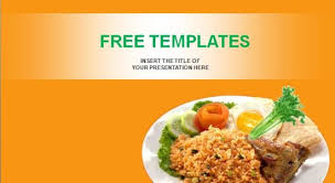 Free Food Powerpoint Templates Food Powerpoint Template Nasi Goreng Professional Powerpoint