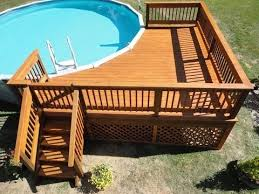 how to build a deck around a pool you