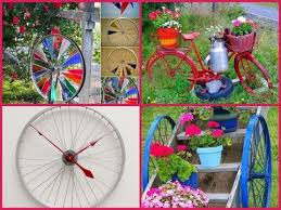Bicycle garden decoration - 30 DIY ideas!