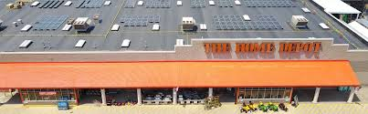 images home depot. Home Depot Roof Filled With Solar Panels Images