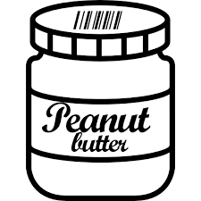 peanut butter clipart. Plain Clipart Image Black And White Jar Shopping Container Items Jars Food Size Picture  Stock Free Clipart Peanut Butter With Peanut Butter Clipart