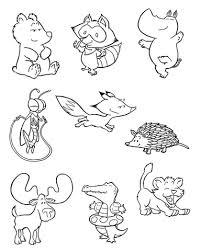 Disegno Di Piccoli Animali Da Colorare Disegni Da Colorare E