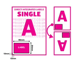 Free Address Label Template Downloads | Priory Direct