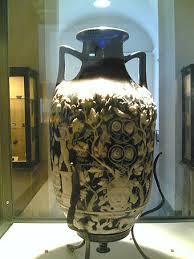 first century roman vase excavated from pompeii
