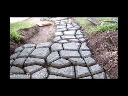 co concrete cobble stepping stone mold