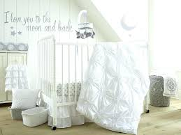 moon and stars crib bedding moon and stars crib bedding set baby willow 5 piece white