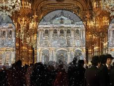 Празднование Нового года на Дворцовой площади Дворцовая ...