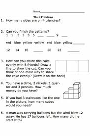 Grade Printable Second Grade Math Word Problem Worksheets Grade 4 ...