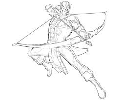 Small Picture Hawkeye coloring pages to download and print for free