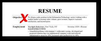 Resume Objective Examples Adorable Resume Objective Examples 60