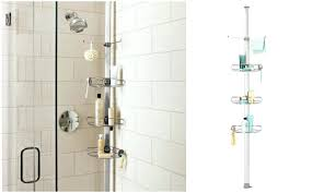 tension rod shower cads no shower shower tension pole shower caddy assembly instructions
