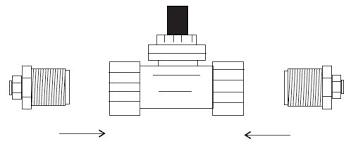 ez flo valve installation kit step 2 connect the solenoid valve to the ez flo tank