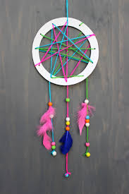 Diy Dream Catchers For Kids Simple And Chic Diy Dream Catcher An Easy Kids Craft On Wwwjane 4