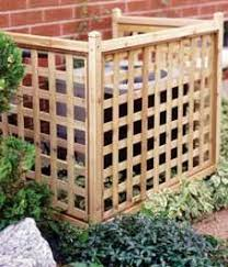 air conditioning covers outside. 10 diy outdoor projects air conditioning covers outside pinterest