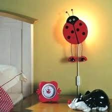 children bedroom lighting. Toddler Bedroom Lighting Children Light Kids Room Contemporary Wall Lights Rooms Lady Bug . E