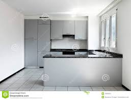 Empty Kitchen Wall New Apartment Empty Kitchen Royalty Free Stock Photo Image