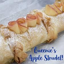 Queenies Apple Strudel