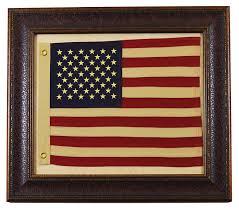 framed american usa flag with aged look rustic western wall art decor on framed western wall art with framed american usa flag with aged look rustic western wall art