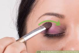 image led apply makeup according to your face shape step 12
