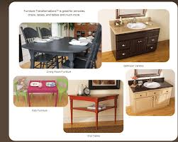 additional product usage rust oleum furniture transformations