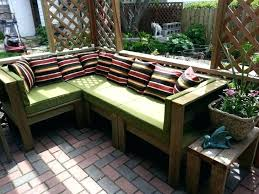 outdoor sofa made from pallets outdoor patio furniture made out of pallets