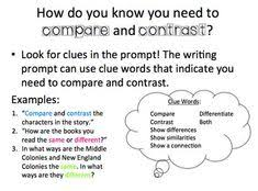 compare and contrast movie to book essay guide student packet  how to write a compare and contrast essay