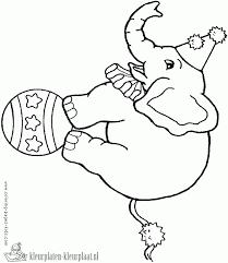 Kleurplaten Circusdieren Brekelmansadviesgroep