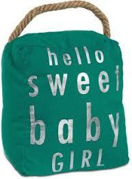 open door decor o sweet baby teal decorative door stopper shelf decor baby bedroom