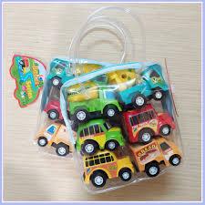 Mua Đồ chơi ô tô cho bé trai 1 tuổi, 2 tuổi, 3 tuổi, 4 tuổi [BỘ 6 XE Ô TÔ  NHÍ CHẠY COT] chỉ 55.000₫