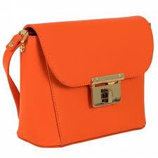 Сумка Sophi <b>Bino</b> оранжевый экологическая кожа, артикул 002 ...