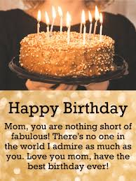 Mom, you are still gorgeous after all these years. Birthday Wishes For Mother Birthday Wishes And Messages By Davia