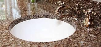 Round White Undermount Bathroom Sink With Quartz Tops Popular