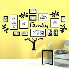 family frames wall decor wall collage decor picture frame family tree wall decor with frames