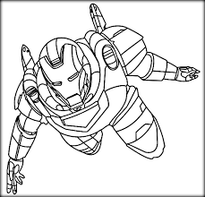 Small Picture Superhero Coloring Pages Color Zini
