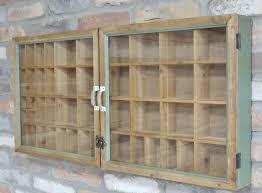 industrial wall cabinet vintage display