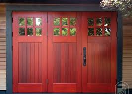 bi fold garage doorsBi Fold Wooden Garage Doors Design  Interior Home Decor
