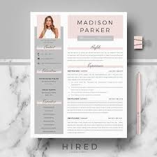 Creative Resume Template Free Best of Creative Modern Resume CV Template For Word Professional Resu