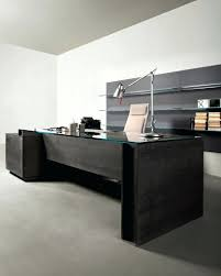glass office table design ombitec for glass top office desk home office furniture ideas