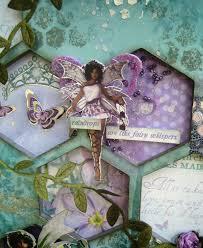 Artfull Crafts: Christine S. - Fairy Dust Frame & Some Winners!!!