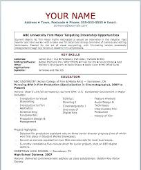 Resume Outline Free Cool Copy Of Resume Template This Is Simple Resume Outline Free Basic