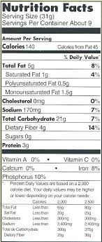 food label for cheerios nutrition label for cheerios understand use regarding cheerios nutrition label