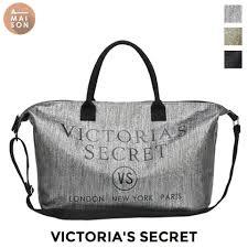 authentic victoria s secret glitter weekender oversized sparkle tote handbag street top handle bag