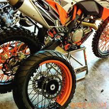 new supermoto wheels for the ktm