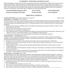Relationship Manager Job Description Resume Resume Objectives For Banking Broadcast Project Manager Cover Cv 18