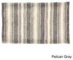 tommy bahama breeze stripe cotton 21 x 34 bath rug contemporary bath mats by com