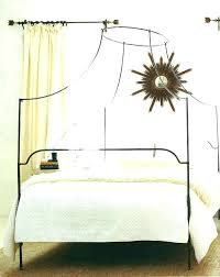 Wrought Iron Canopy Bed Queen Size Wrought Iron Bed Wrought Iron ...
